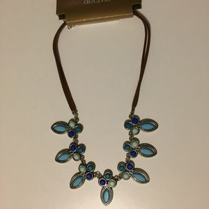 Decree Blue and Green Necklace Brand New